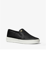 Michael by Michael Kors Laser Cut Out Sneaker - Side cropped