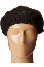 Michael by Michael Kors Logo Studded Beret - Back cropped