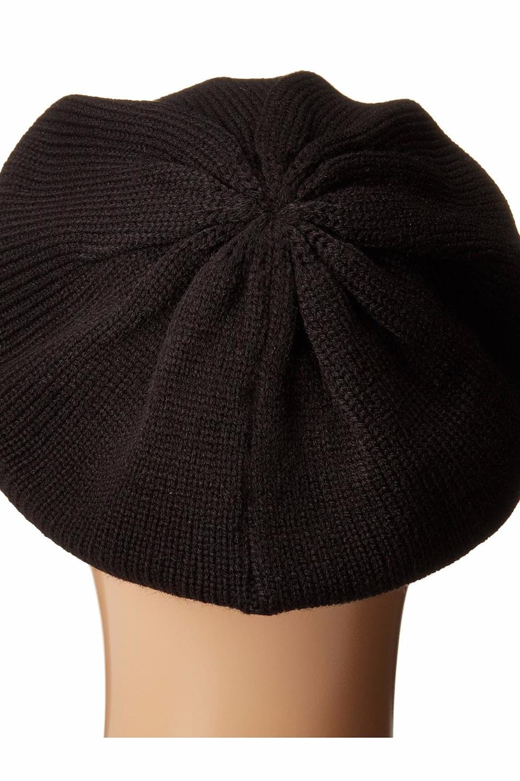 Michael by Michael Kors Logo Studded Beret - Side Cropped Image