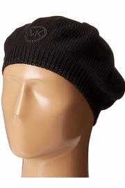 Michael by Michael Kors Logo Studded Beret - Front cropped