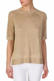 Michael by Michael Kors Metallic Woven Tank - Product Mini Image