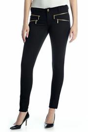 Michael by Michael Kors MK Black-Zip Skinny - Product Mini Image