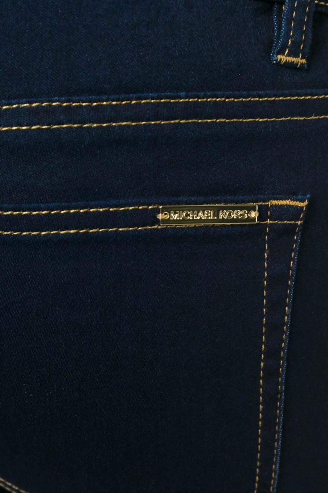 Michael by Michael Kors Mk Denim Skinny - Back Cropped Image