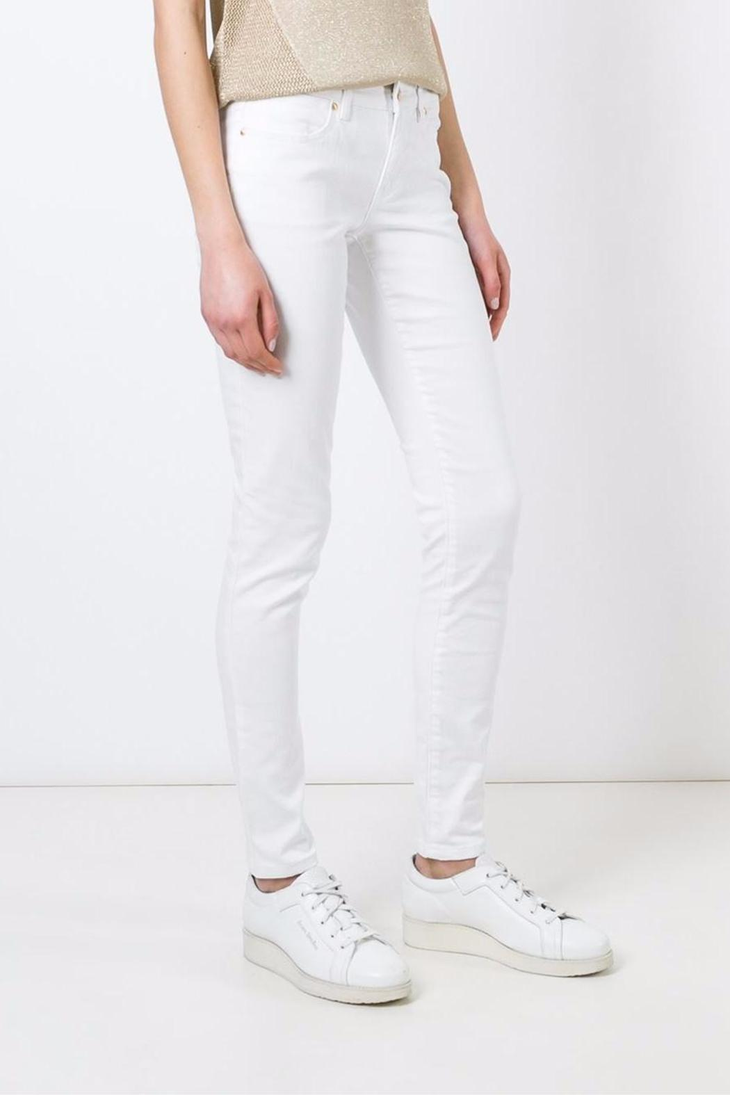 Michael by Michael Kors White-Skinny Mid-Rise - Main Image