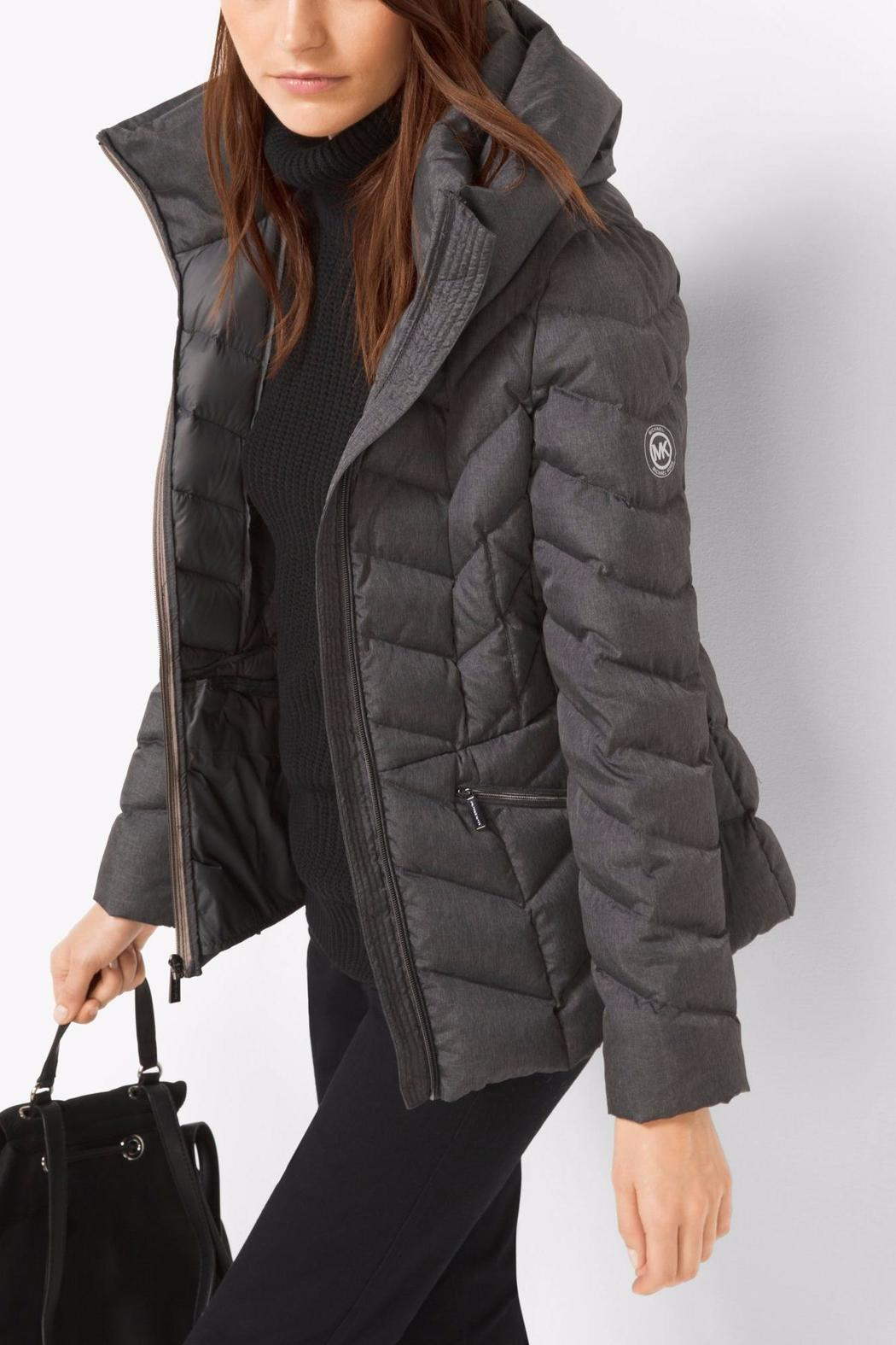 Michael By Michael Kors Packable Quilted Nylon Jacket From