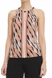 Michael by Michael Kors Printed Halterneck Top - Product Mini Image