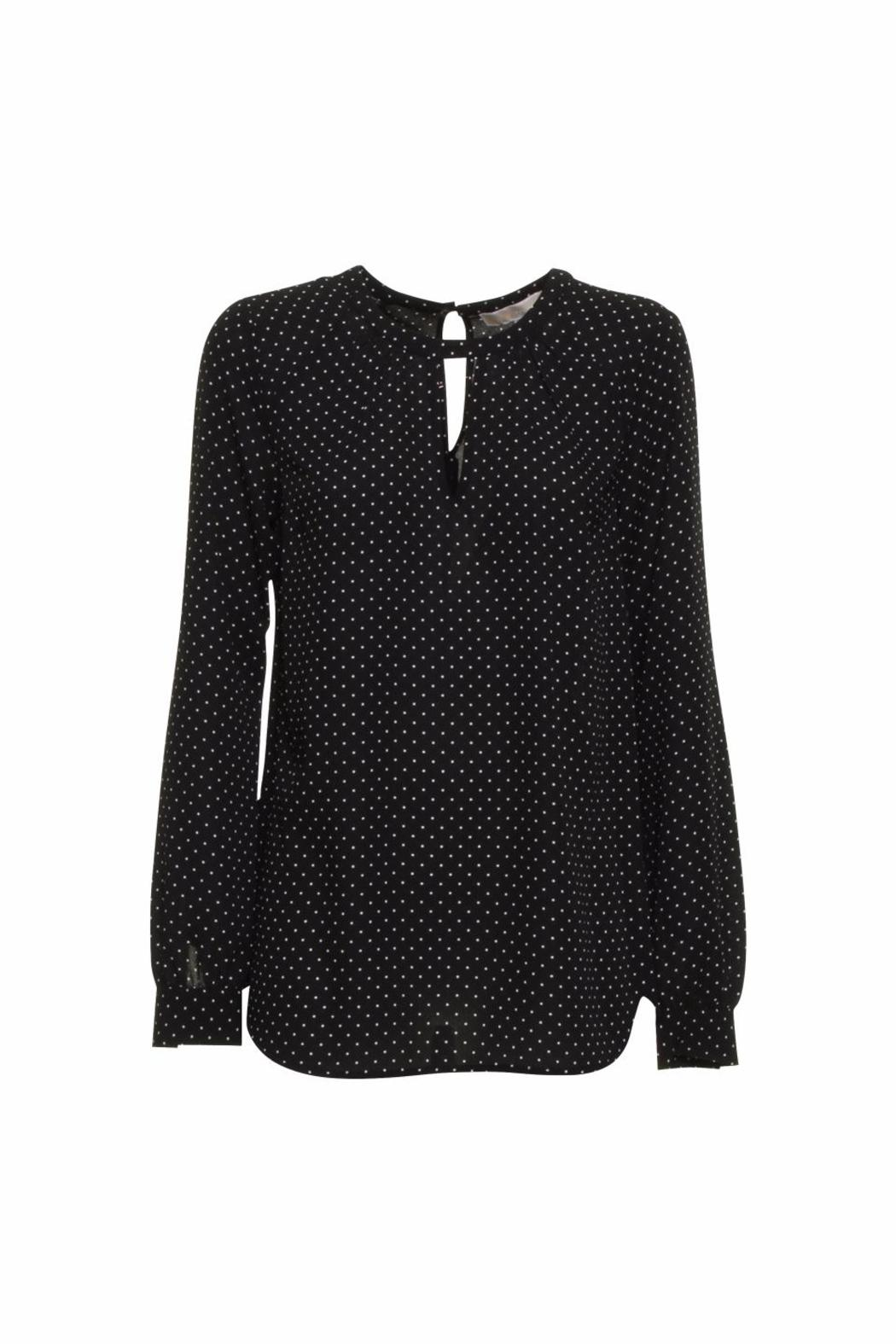 Michael by Michael Kors Polka Dot Blouse - Side Cropped Image
