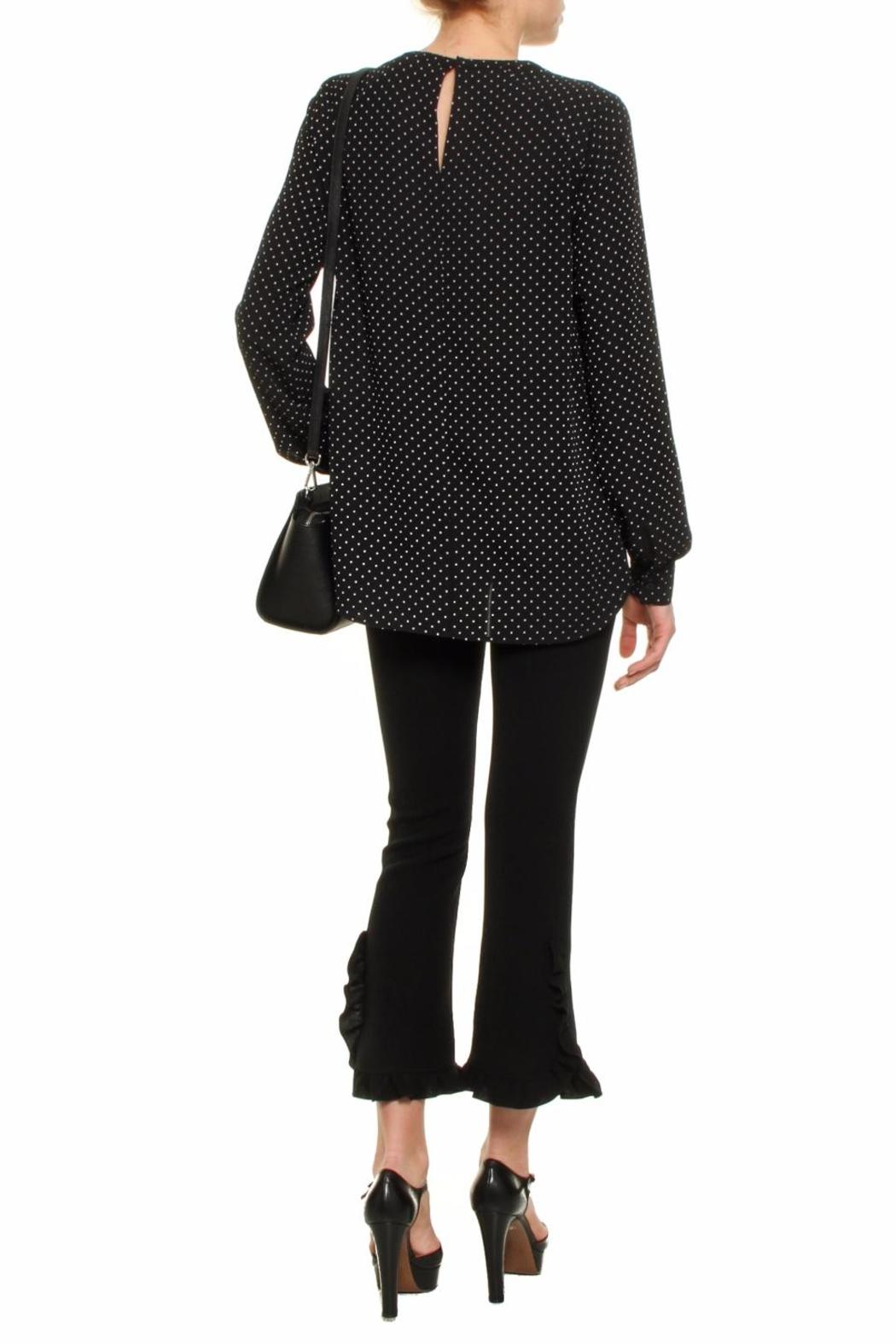 Michael by Michael Kors Polka Dot Blouse - Front Full Image