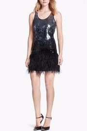 Michael by Michael Kors Sequin & Feather Tank - Product Mini Image