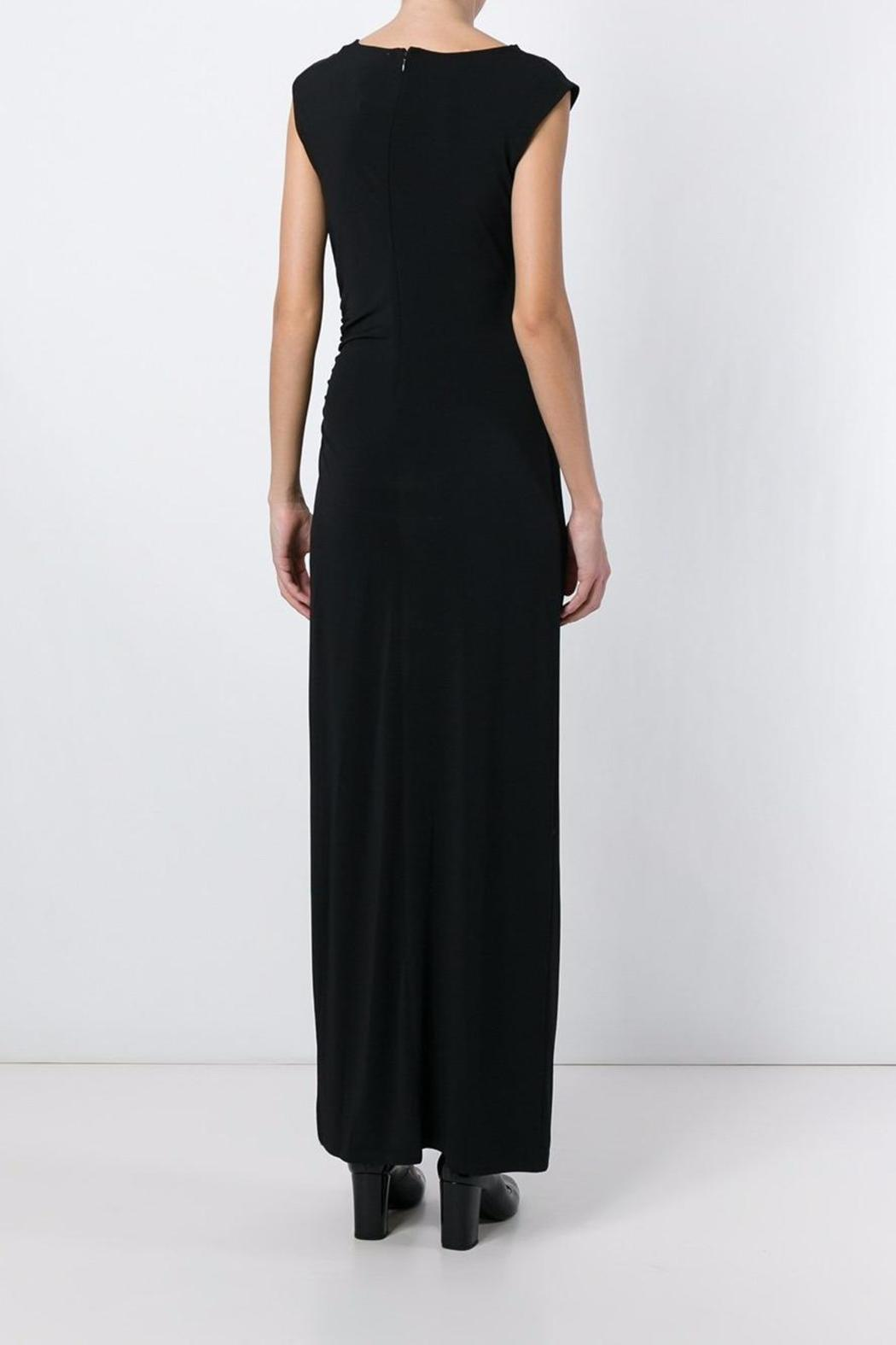 Michael by Michael Kors Side Slit Gown - Front Full Image