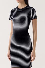 Michael by Michael Kors Striped Shirt Dress - Front cropped