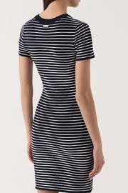 Michael by Michael Kors Striped Shirt Dress - Front full body