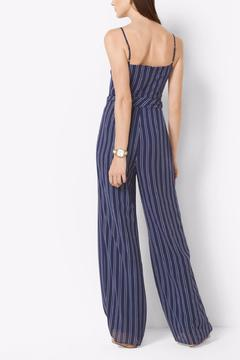 Michael by Michael Kors Striped Tie Waist Jumpsuit - Alternate List Image