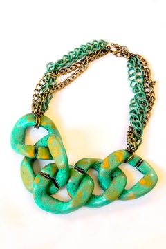 Michael Gabriel Designs Chunky Link Necklace - Alternate List Image