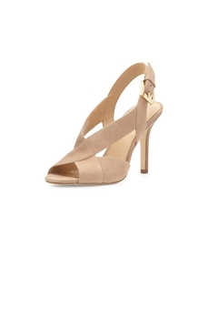 Michael Kors Beige Suede Heels - Alternate List Image