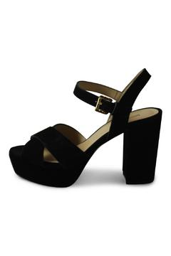 Shoptiques Product: Black Leather Platforms