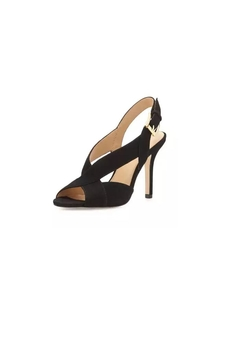 Michael Kors Black Suede Heels - Alternate List Image