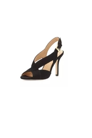 Michael Kors Black Suede Heels - Product Mini Image