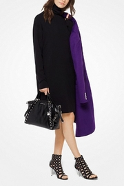 Michael Kors Black-Turtleneck Sweater Dress - Product Mini Image