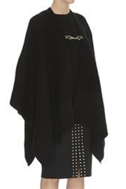 Michael Kors Chain-Closure Wool Cape - Product Mini Image