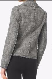 MICHAEL Michael Kors Frayed Tweed Jacket - Front full body