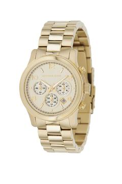 Michael Kors Gold Chronograph Watch - Product List Image