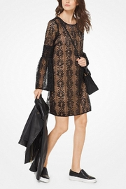 Michael Kors Lace Bell-Sleeved Dress - Product Mini Image