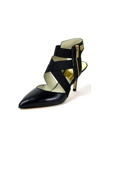 Shoptiques Product: Leather Pointed Toe Heels