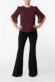 Michael Kors Graphic Lace Top - Front cropped