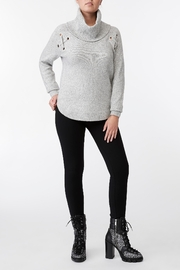 Michael Kors Grommeted Cowl Sweater - Product Mini Image