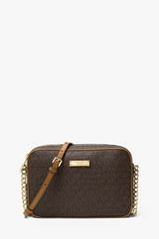 Michael Kors Jet Set Logo Crossbody Leather Bag - Product Mini Image