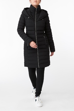 Shoptiques Product: Michael Kors Quilted Stretch Nylon Puffer Coat