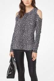 Michael Kors Peekaboo Cheetah Sweater - Product Mini Image