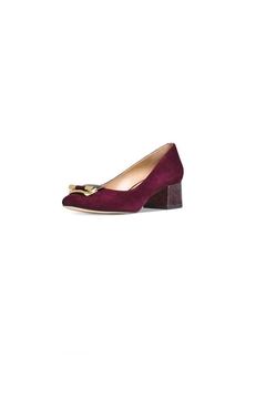 Michael Kors Purple Suede Pumps - Product List Image