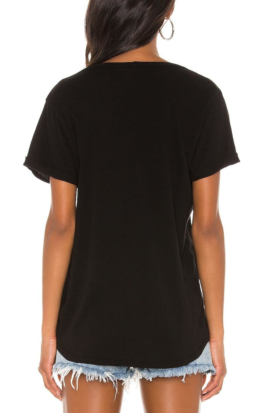 Michael Lauren Berkley Cut-Out Tee - Side Cropped Image