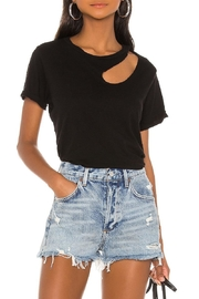 Michael Lauren Berkley Cut-Out Tee - Product Mini Image