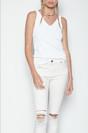 Michael Lauren Calhoun V-Neck Tank - Product Mini Image