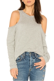 Michael Lauren Cold Shoulder Sweatshirt - Product Mini Image