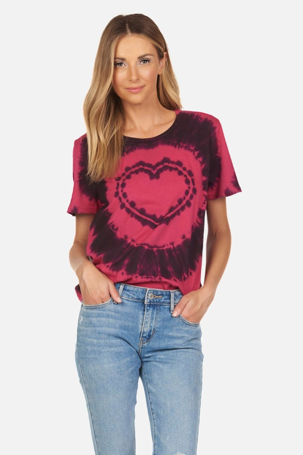 Michael Lauren Conga Heart Tee - Front Cropped Image