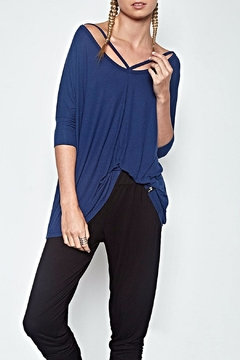 Shoptiques Product: Cut Out V Neck Top