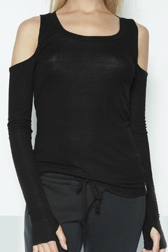 Shoptiques Product: Flippo Open Shoulder Top
