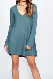 Michael Lauren Kyle V Neck Dress - Product Mini Image