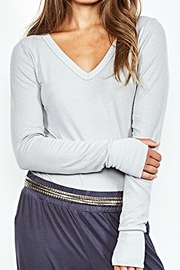 Michael Lauren Lace Grey Otis - Front cropped