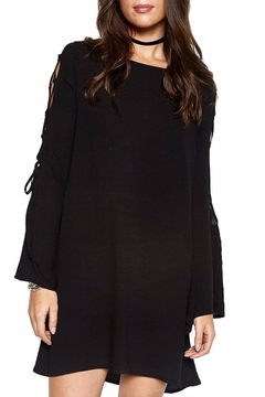 Michael Lauren Lace Up Bell Sleeve - Product List Image