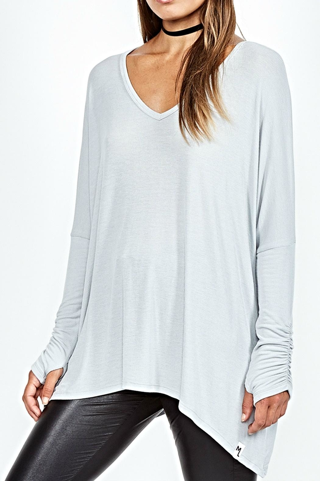 Michael Lauren Sherman Draped V-Neck - Main Image