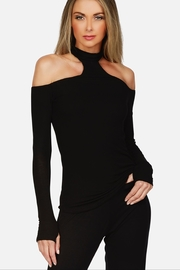 Michael Lauren Trent Chocker Top - Product Mini Image