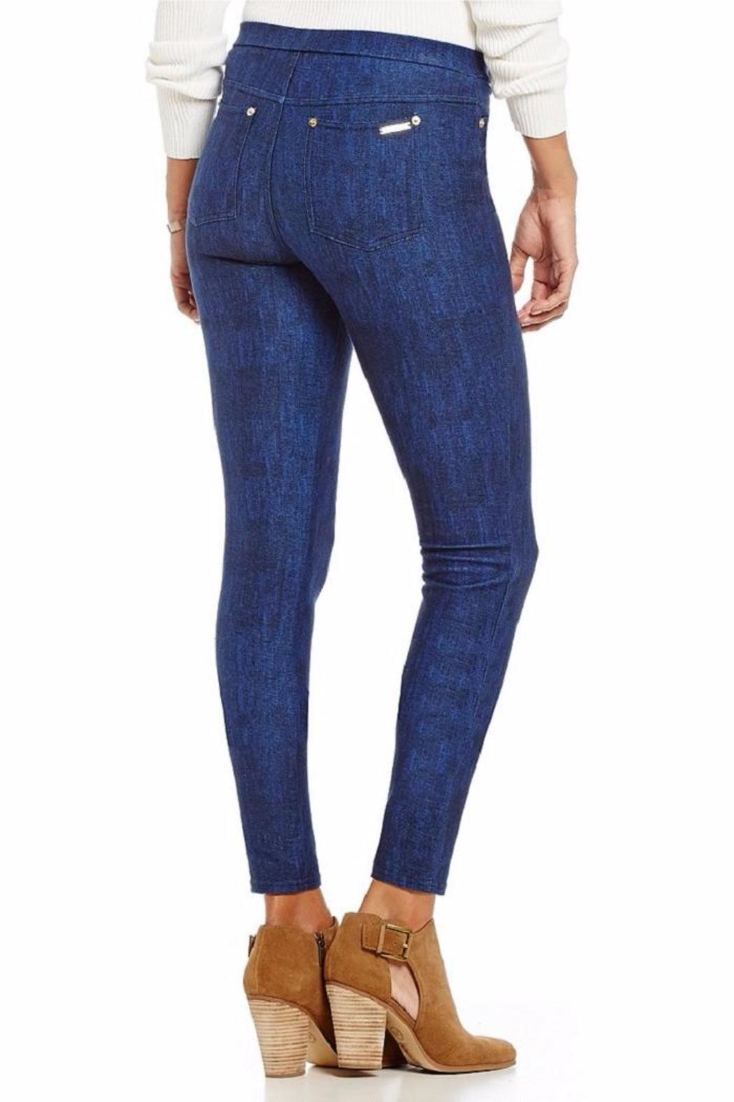 MICHAEL Michael Kors Classic Wash Leggings - Side Cropped Image
