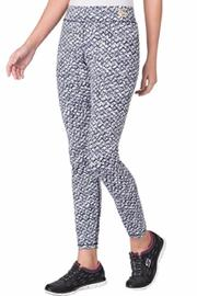 MICHAEL Michael Kors Tied Batik Print Leggings - Front full body
