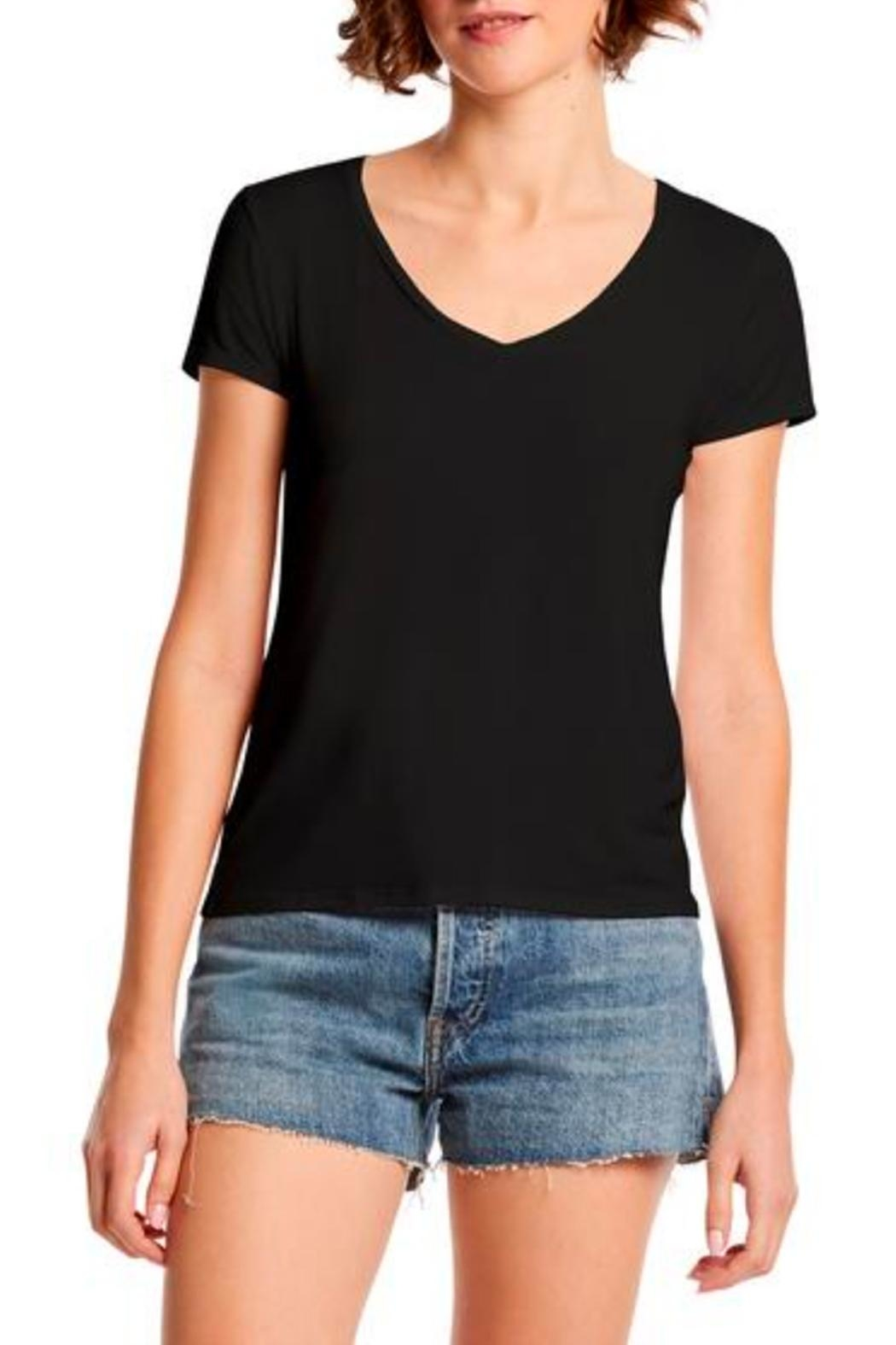 Michael Stars Ava Slim Tee - Front Cropped Image