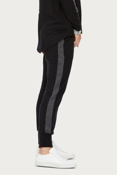 Michael Stars Black Colorblock Jogger - Product List Image